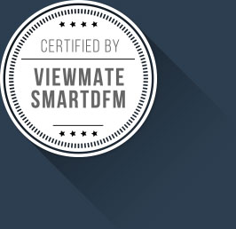 Certified by viewmate with shadow