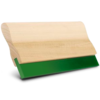 Natural Wood Handle with 90A Square Edge Squeegee Blade